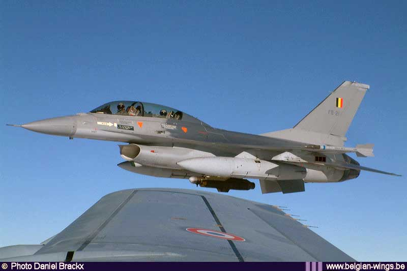 Fighter Pilot Is Left Dangling From Power Lines After F-16 Crash