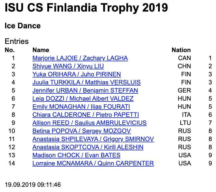 Challenger (6) - Finlandia Trophy. Oct 11 - 13, 2019. Espoo /FIN      EE0aOmIUYAATNCJ?format=png&name=900x900
