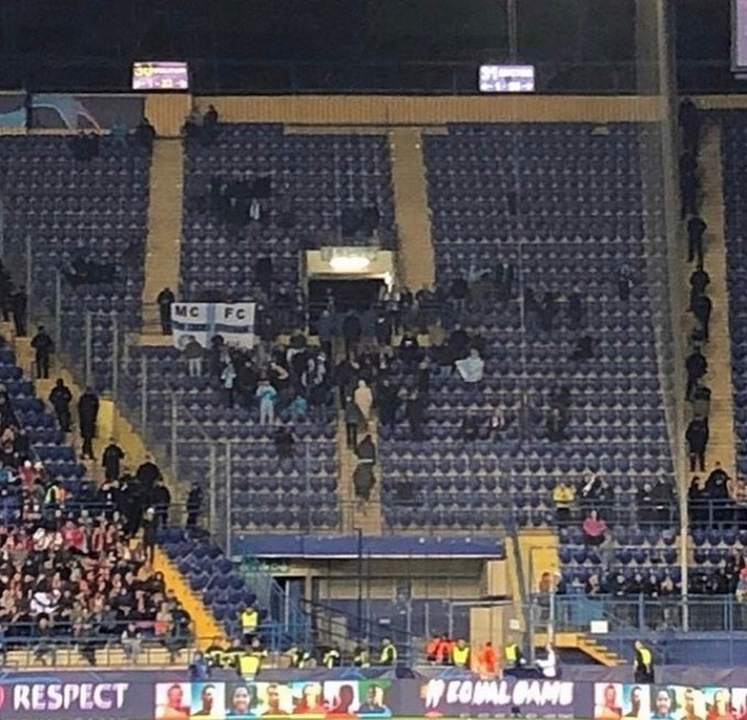 🔵🏆 Fair play to the travelling Man City fans... - Flights costing more than £500 to go to Kharkiv - Hotels around €60 per night - Round trip of 3,780 miles #MCFC