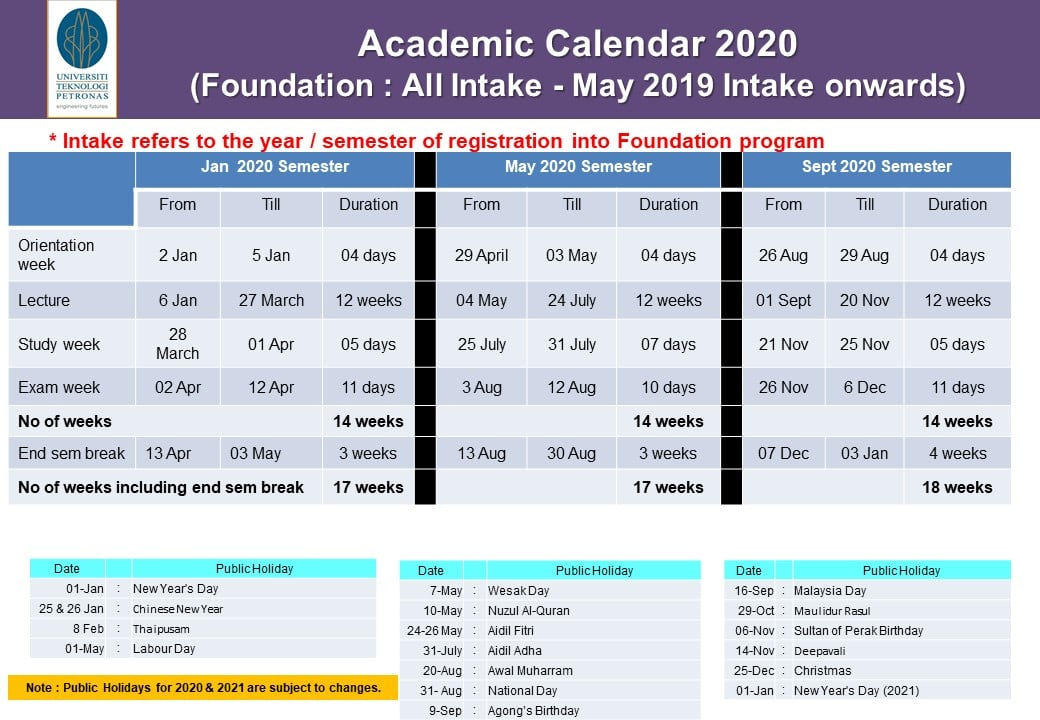 Fall Academic Calendar 2020.Ircutp On Twitter Academic Calendar 2020 Utpinme Ircutp