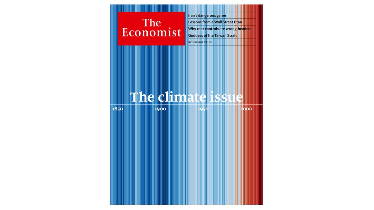 Climate change touches everything The Economist reports on. It must be tackled urgently. There is no alternative. Our special issue this week https://econ.st/30uVwF1