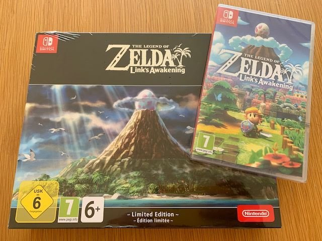 #Competition You could win THE LEGEND OF ZELDA LINK'S AWAKENING LIMITED EDITION on the #NintendoSwitch To enter just FOLLOW + RT this post   #Comp #Giveaway #Win #CompetitionTime #OfferGames #Gaming #Borderlands  #ZeldaLinksAwakening #Zelda <br>http://pic.twitter.com/5CyNPdRu3v