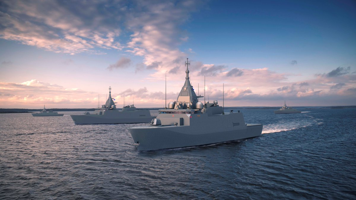 RELEASE: Finland's Ministry of Defence has selected Saab as combat system integrator and provider for the Squadron 2020 programme More 👉https://bit.ly/2kIh02m📷 Finnish Defence Forces #navy #squadron2020
