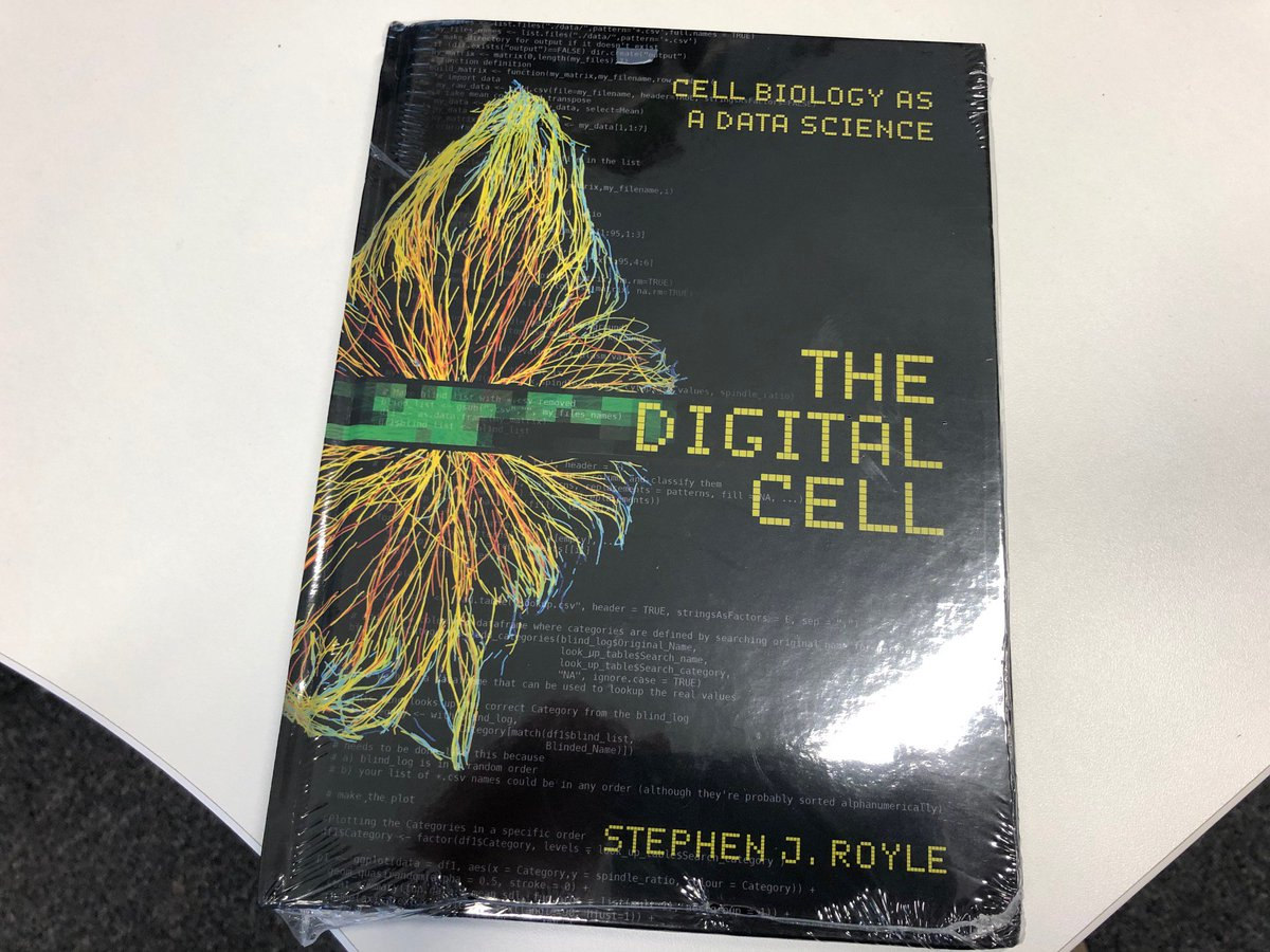 First hard copy of my book - The Digital Cell