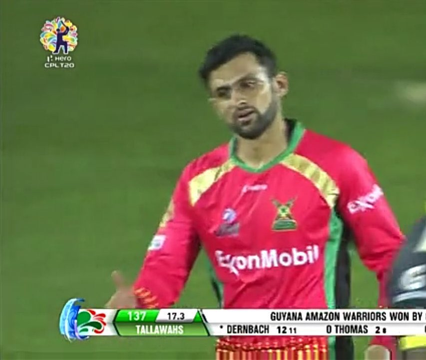 Shoaib Malik complete 350 t20 matches .5 Win In A Row By #GAW under The leadership Of @realshoaibmalik.Great performance By #MrConsistent (#ShoaibMalik) in this match 67* in 37 ballsWelldone Malik#CRICKET