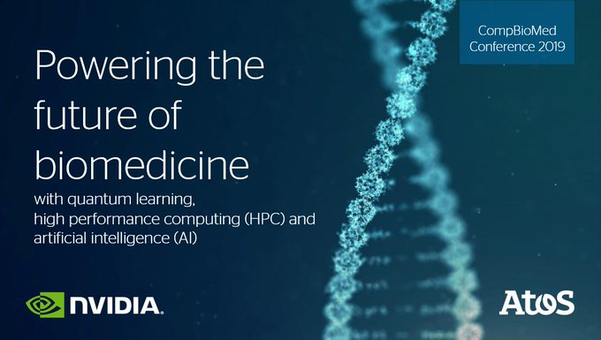 Proud to be platinum sponsor of #CompBioMed Conference 2019 with @nvidia. Find out how...