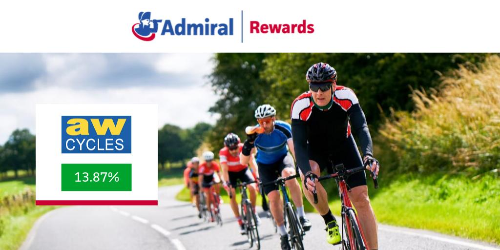 With the start of the Road #Cycling World Championships you can ride off with a top #cashback reward from @awcycles, one of the most respected independent cycle shops in the country.Head to http://www.admiral.com/admiral-rewards-fb… before 23rd September 🚴🏼🚴🏼🚴🏼