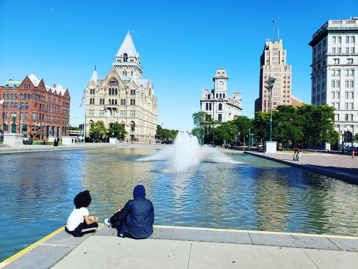 Sometimes the best thing to do with our children is just enjoy their company after picking them up from syracuse #downtownsyracuse @SyracuseSchools @Syracuse1848 @syracuselatin @positivelysyr @syracusedotcom<br>http://pic.twitter.com/c4Pm0UoAU9