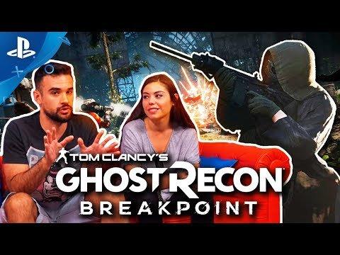 ¡Llega un nuevo #ConexiónPlayStation! @LMDShow y @albihm nos hablan de #GhostReconBreakpoint, el shooter militar en el que tendrás que sobrevivir en zona enemiga. ¡Conoce más de este juego!