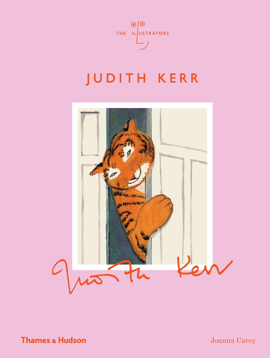 Were really looking forward to the launch party tonight for Judith Kerr by Joanna Carey. We hope you can join us to celebrate 6.30 - 8.30 p.m. @thamesandhudson