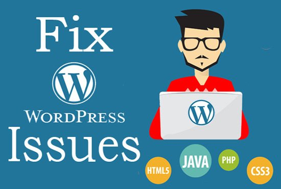 I will fix WordPress issues or errors Click here for more details: bit.ly/2mnSYKp #wordpress #twitter #email #fiverr