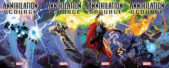 @jared_webb1 @Mitch692 @WeaponXKP21 @AKARELK @SuperSuitShow @The_GWW Annihilation still the best event from Marvel.Lets hope this new one stays just as good. Also ABNETT ON SURFER = GOLD. ANNIHILATION - SCOURGE: NOVA #1 ANNIHILATION - SCOURGE: SILVER SURFER #1 ANNIHILATION - SCOURGE: BETA RAY BILL #1 ANNIHILATION - SCOURGE: FANTASTIC FOUR #1