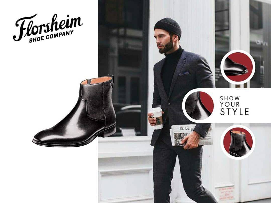 """#florsheimgt #brandysshoes ... """"¿Quién dijo que no podías usar botas con un traje?  Marca tu propio estilo al caminar y crear un look único con las botas Florsheim. #FlorsheimGT #Florsheim #Mens #LifeStyle #Fashion #MensWear #ModaGuatemala"""""""