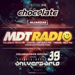 Image for the Tweet beginning: #ChocolateAlianzas #GrupoMDTradio #39Chocolates #5octubre #SpookClubVlc