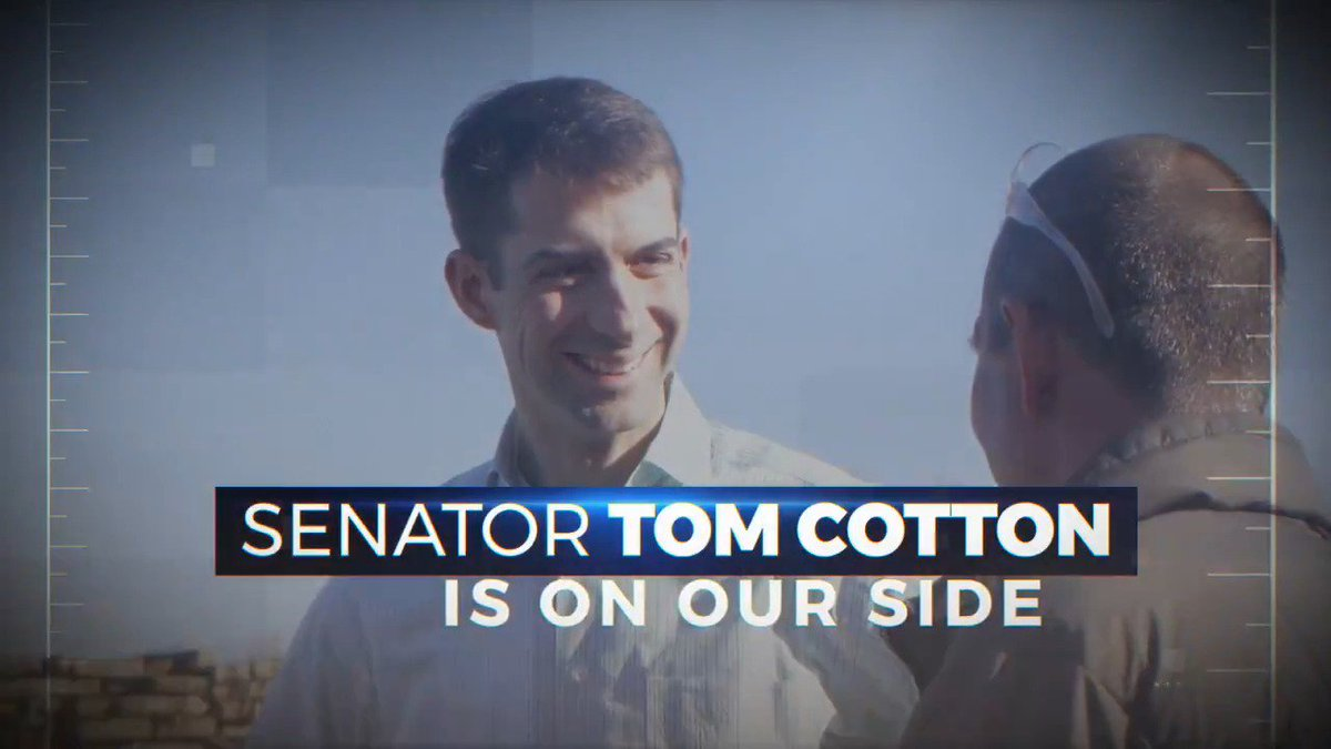 .@TomCottonAR is standing up to radical socialist Dems and will continue to fight for Americans' freedoms! #ARSen