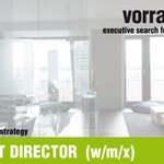 Image for the Tweet beginning: INVESTMENT DIRECTOR  (w/m/x) |
