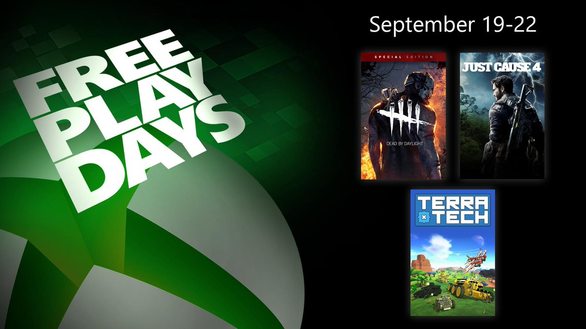 Why more Free Play Days? Just cause.Learn more: https://xbx.lv/2lWm838