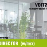 Image for the Tweet beginning: MANAGING DIRECTOR  (w/m/x) |