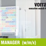 Image for the Tweet beginning: MARKETING MANAGER  (w/m/x) |