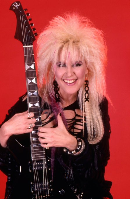 Happy birthday Lita Ford from 80s In The Sand!