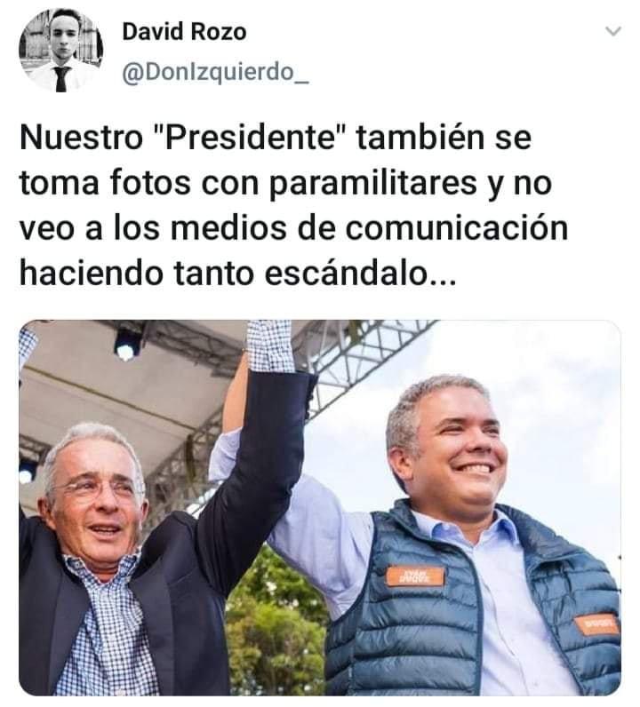 """#19Septiembre. El por qué en #Colombia ven al paramilitarismo muy """"normal"""" o en todo caso algo """"incómodo"""" para su prensa local."""