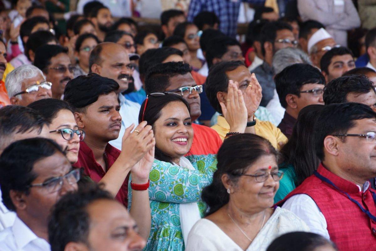 Glimpses of #MahaJanadeshYatra conclusion sabha in Nashik   #MahaJanadeshWithModi<br>http://pic.twitter.com/HgmEiU2fZF