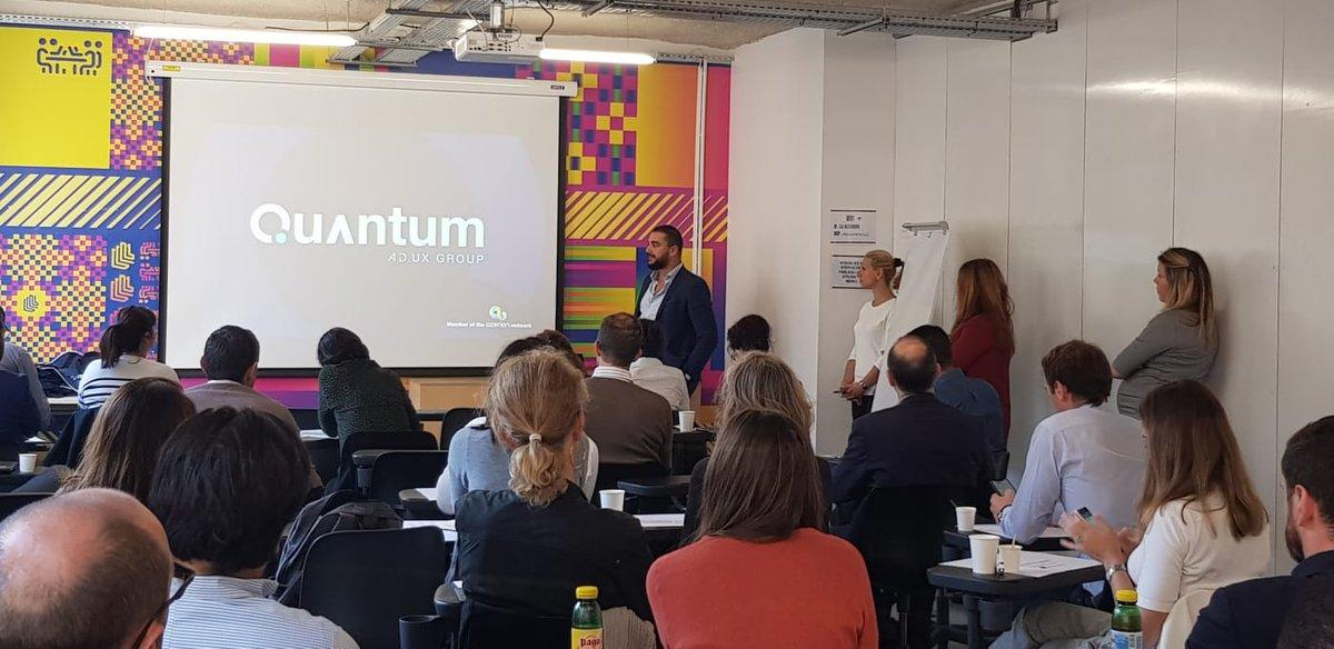 """Ce matin à l'Université des Annonceurs organisée par @weborama & l' @ebg  ➡️ """"Branding et formats innovants pour plus d'attractivité"""" par @QuantumAds  #Digital #digitalads #branding #performance #bestcases #advices https://t.co/3iH1UYswEp"""