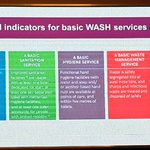 Image for the Tweet beginning: #WASH in healthcare facilities access