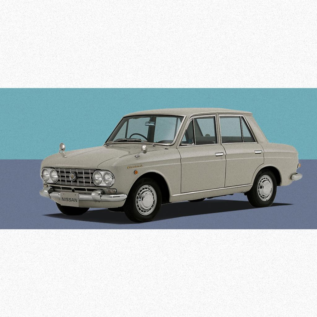 With a taste of Italian styling, an advanced monocoque body structure, and agile driving performance, #Nissan released the all-new 2nd generation #Bluebird, also known as Datsun Sedan and Wagon, in September #1963. #TBT #Heritage