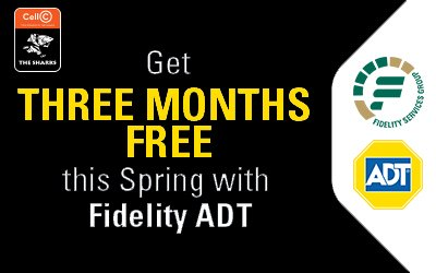 Get all the security you need with @FidelityADT. Sign up now and get your first 3 months free. Visit: bit.ly/2lYAW1b Ts & Cs apply
