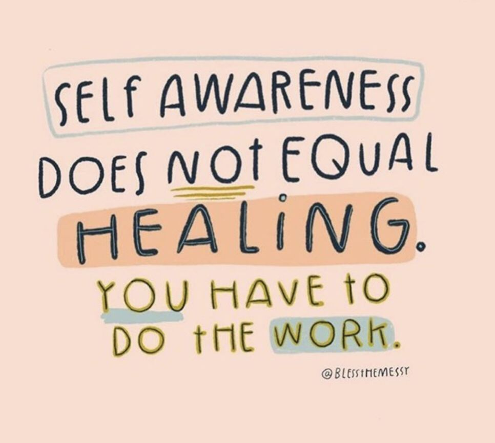 Yep, you have to... #healing #coach #selfawareness #marciafervienza #innerwork #trauma #past #relationships #counseling