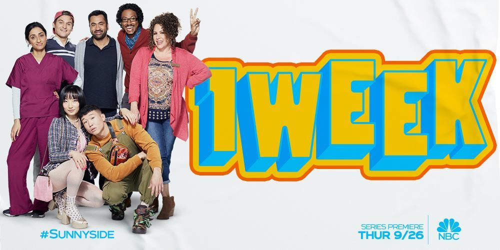 One more week! 🚕 #Sunnyside premieres Thursday, September 26 at 9:30/8:30c on @NBC.