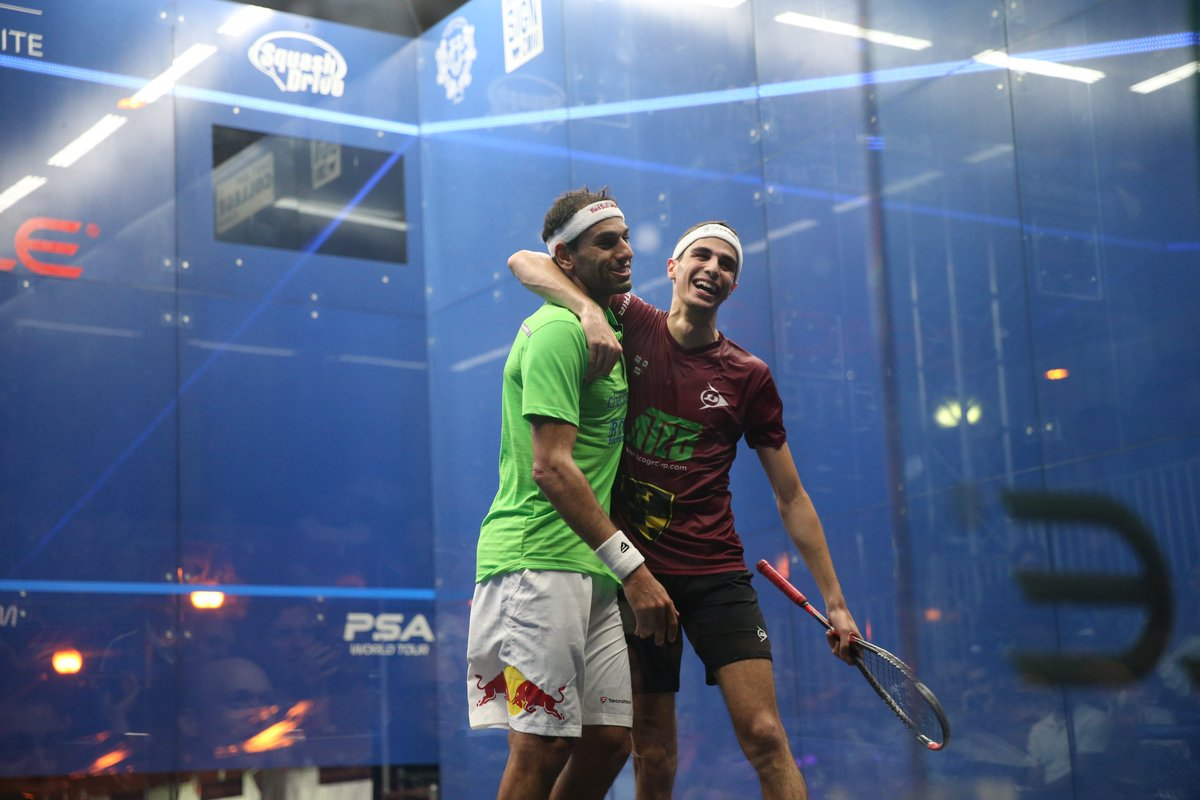 test Twitter Media - #ThrowbackThursday - Last year's @ONOSquash saw some incredible matches in the men's draw 😱  Relive what happened in 2018 here ⬇️ https://t.co/31YOWVYY1p #squash #tbt https://t.co/B3C9johWFT