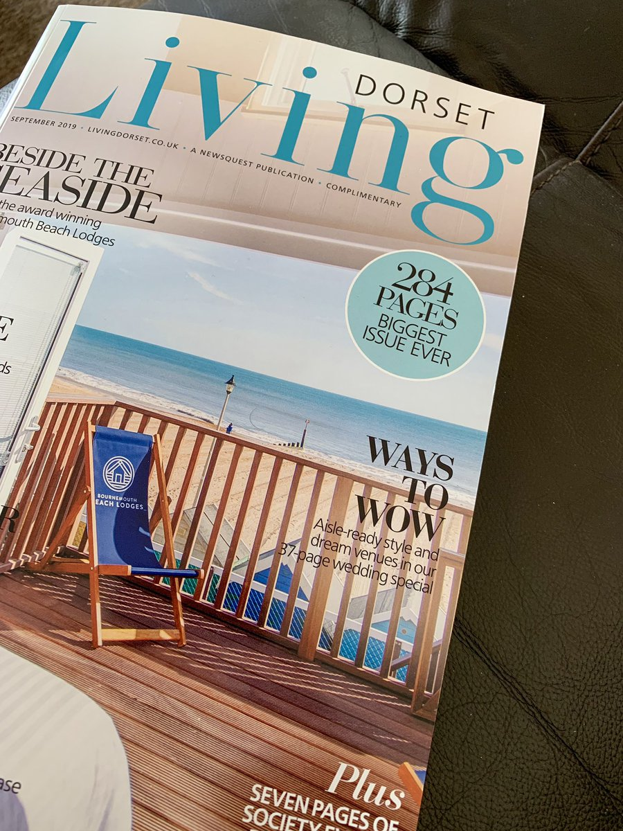 It was nice to see my image on double pages of the  @DorsetLiving magazine  @visitxchurch @TheNoisyLobster @visit_dorset @BBCRadioSolent #Dorset @ca_accountants @LoveXchurch <br>http://pic.twitter.com/zZ6BIERq7T