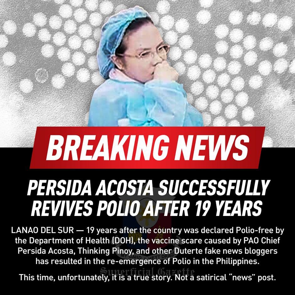 this needs for all of us to RT this. Dr. Persida Acosta needs to see this accomplishment of hers.   #CongratsPersida <br>http://pic.twitter.com/xrn1TJuI56