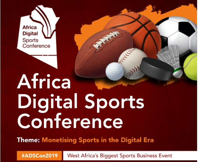 #ADSCon2019 : Africa Digital Sports Conference set for Friday 20 September -  http:// tinyurl.com/y5c6csmg     <br>http://pic.twitter.com/0zoOfF5WuT