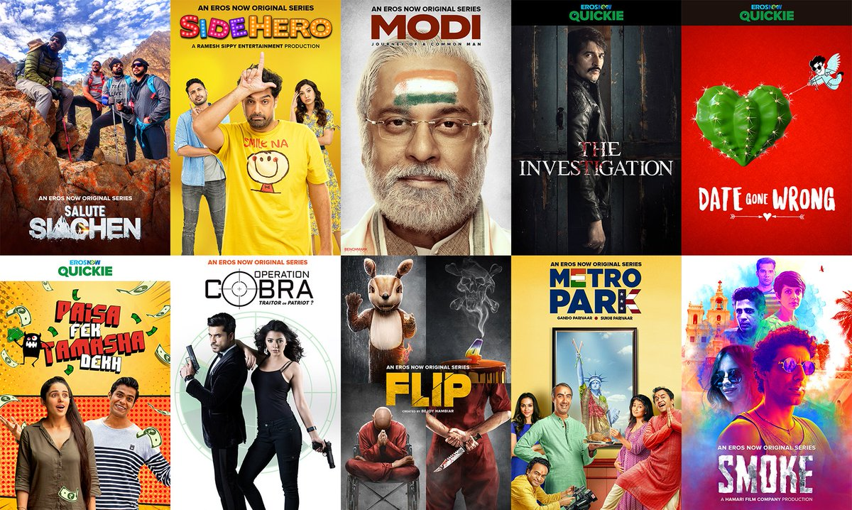Bollywood, blockbusters and a $5 billion industry: How Indian company @ErosNow is redefining online video http://msft.social/gFnzbV
