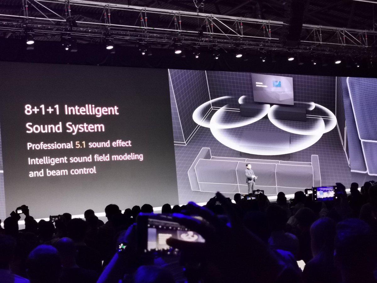 La TV de Huawei no es para nada baladí #RethinkPossibilities #HuaweiMate30
