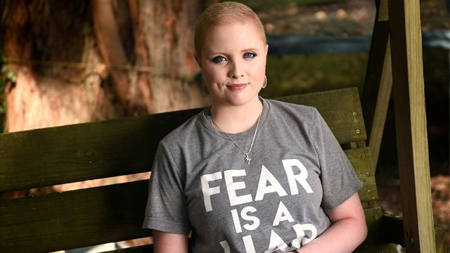 """Beauty, and the beast of cancer - Chaleece Leckron beat non-Hodgkin's lymphoma at 16. """"Little did we know that six years later, she again would be called to put on the armor of God and live this nightmare all over again."""" iuh.me/30cMkJ8"""