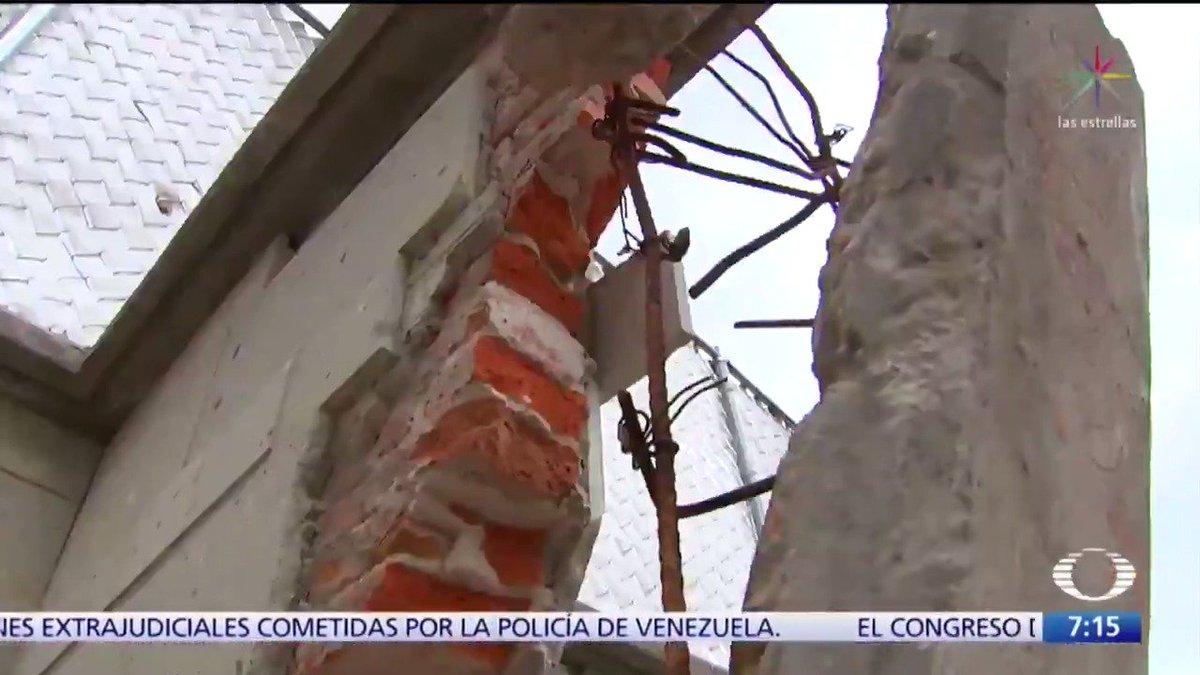 Estos damnificados del sismo del 19 de septiembre en la CDMX no solo perdieron su patrimonio, sino que fueron engañados y defraudados.   #HistoriasDelSismo #DamnificadosDelSismo#Despierta con @daniellemx_