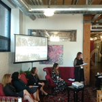 """Image for the Tweet beginning: Our panel """"Weaving 2020: Funding"""