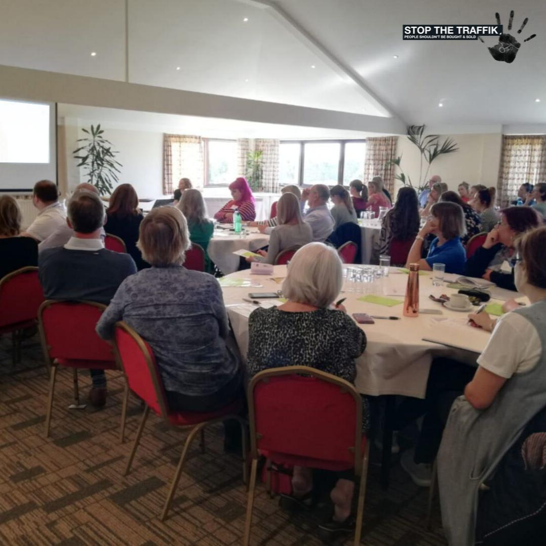 Today were bringing together professionals from all over East Sussex to talk about their role in the fight against #HumanTrafficking. Weve got NGOs, health, law enforcement and loads more all talking about how to make communities safer