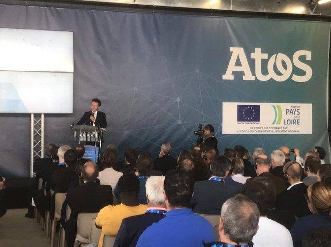 🔴🗣 @ChristopheBechu «Atos a choisi @Angers pour installer son centre mondial...