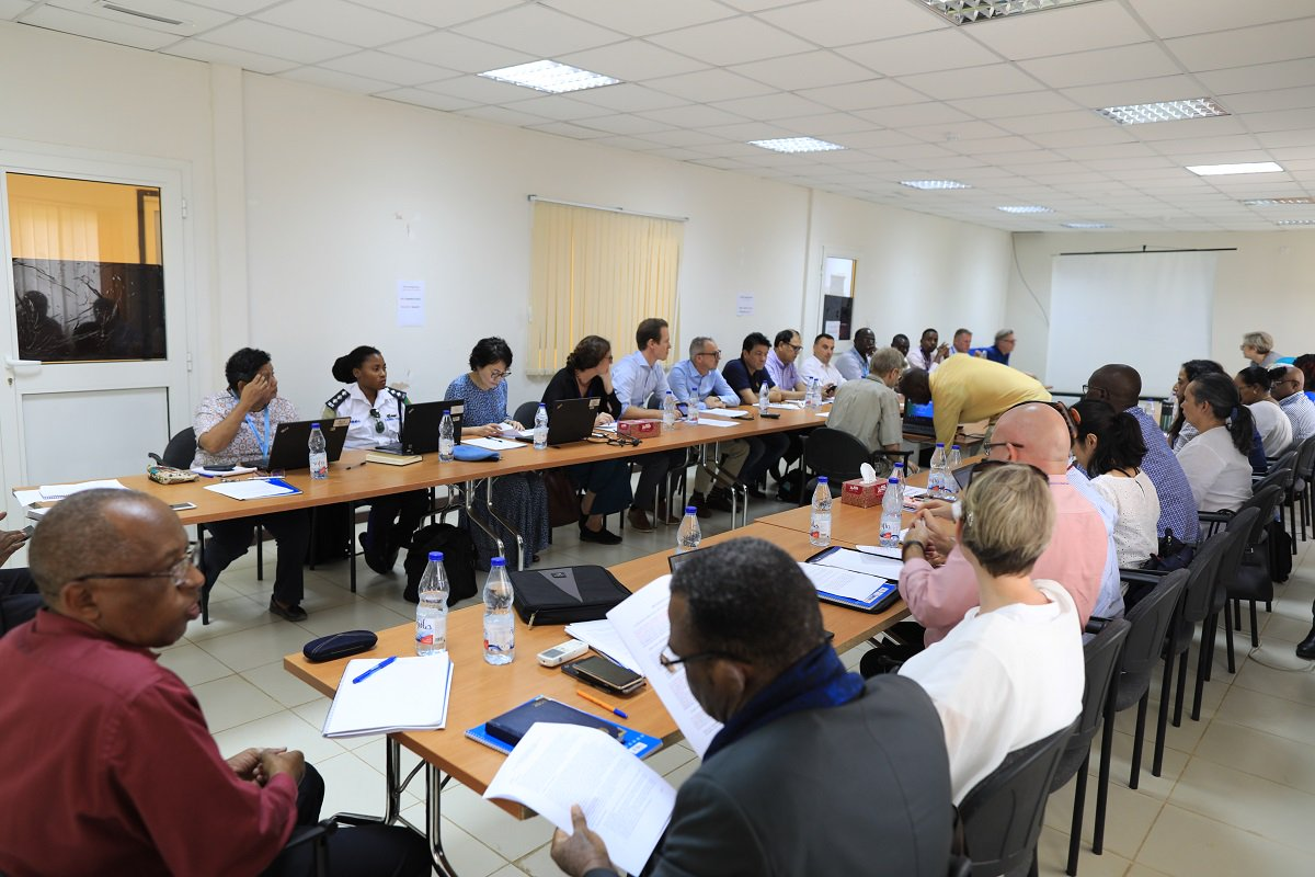 #PhotoOfTheDay #UNAMID, jointly with the Peacebuilding Support Office @ the Office of the UN Resident Coordinator in Sudan organized a workshop  on identifying and building on linkages between UN State Liaison Functions & an imminent project to support UNAMID's transition. https://t.co/5nUhTuKQeN