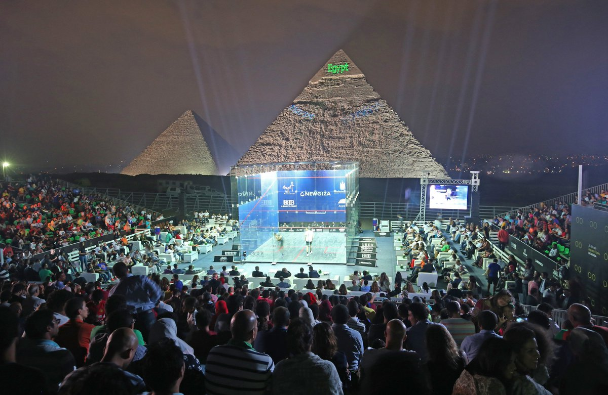 test Twitter Media - #News - The draws have been released for the CIB @PSAWorldChamps and CIB Egyptian Squash Open 🇪🇬  Find out who takes on who at the Great Pyramid of Giza next month 👀⬇️ https://t.co/sdzaf6lBel #squash https://t.co/zMutm7t1ad