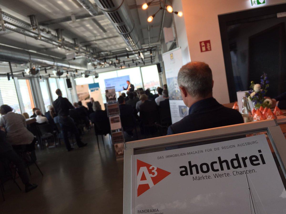 test Twitter Media - Heute stellt sich @ahoch3_augsburg beim Expertenforum Quartiersentwicklung des #BFW im @Werksviertel mit innovativen Immobilienprojekten vor. #RegionA3 #wirmachendiezukunftbesser #immobilien #gewerbeimmobilien https://t.co/W16NSvHGTT