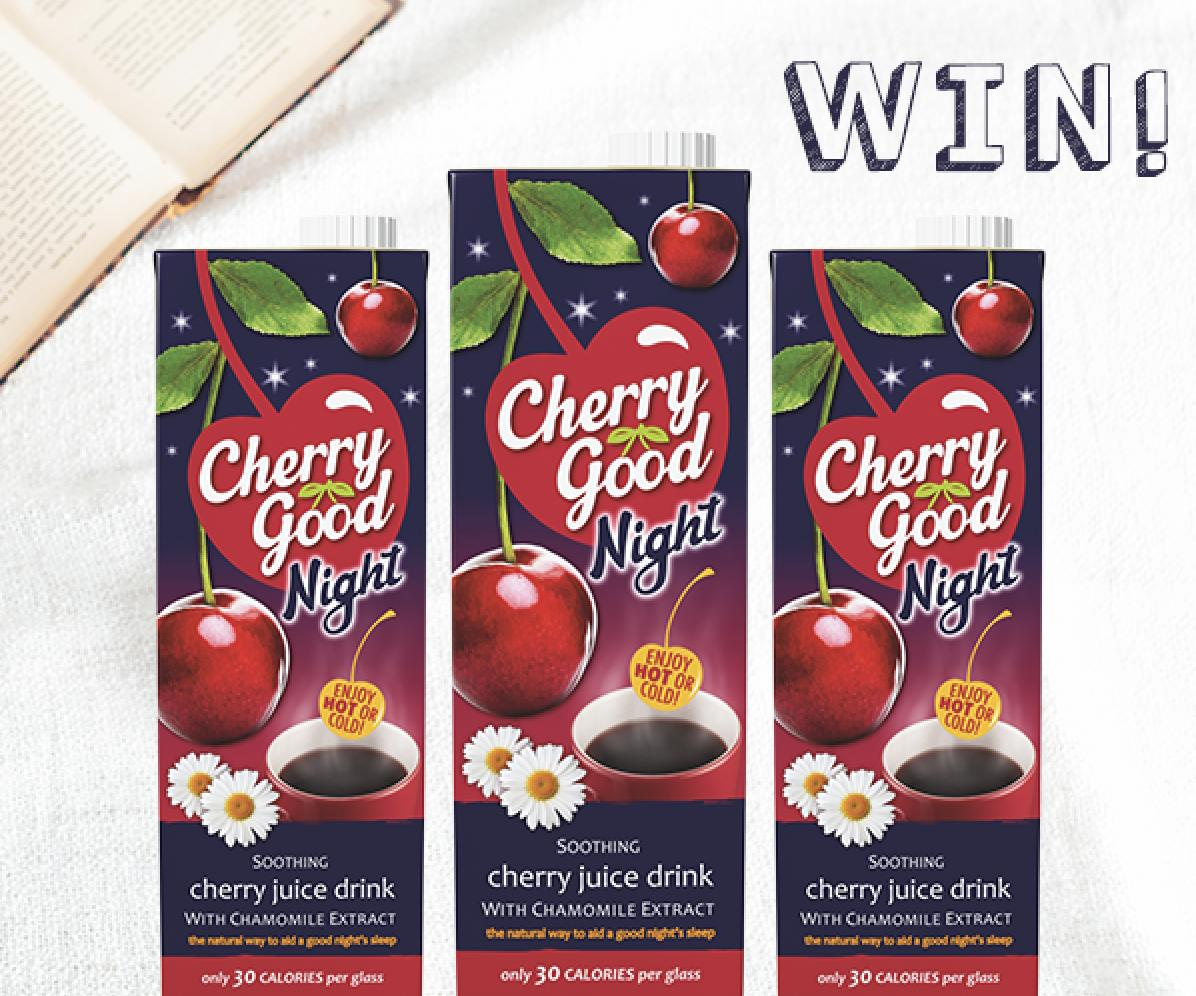 Enjoy Cherry Good Night for Free this Autumn!  Follow, Retweet & Reply for the chance to win a month's worth of Cherry Good Night Vouchers! Have you tried it yet? UK Only, Ends 27/09 9am, T&Cs Apply #FreebieFriday <br>http://pic.twitter.com/RSG6inQwnW