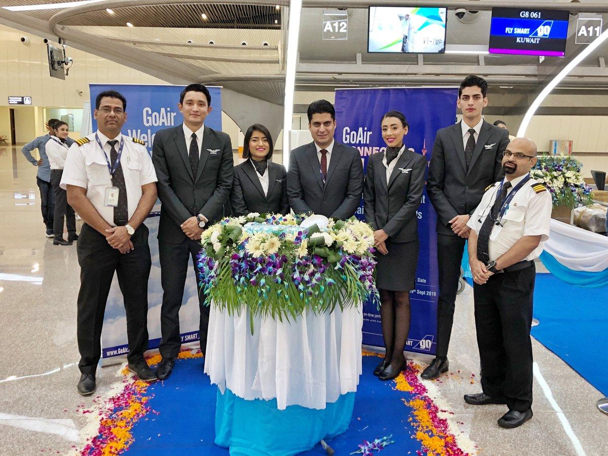 All set to #FlySmart to #Kuwait, our newest international destination! ✈