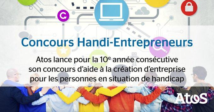 C'est parti pour la 10e édition du concours Handi-Entrepreneurs qui encourage l'#innovation...