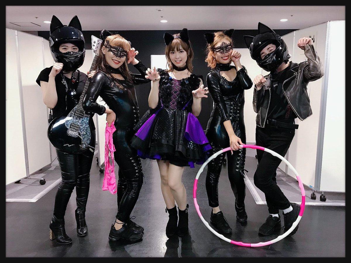 🐈BLACK CATS🖤こうやって見ると…悪役感ハンパないわね(笑)#anisama #STORY #渕上舞 #BLACK_CAT
